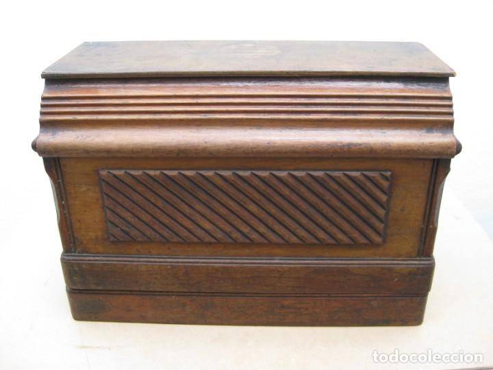 Antigüedades: Maquina coser a manivela Singer.Funciona - Foto 21 - 208045885