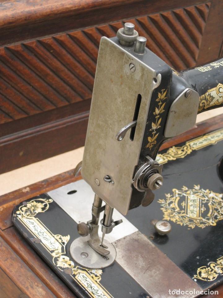 Antigüedades: MAQUINA COSER A MANIVELA SINGER.FUNCIONA - Foto 8 - 208055001