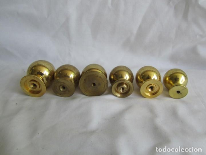 Antigüedades: 21 pomos tiradores de bronce macizo - Foto 8 - 208062566
