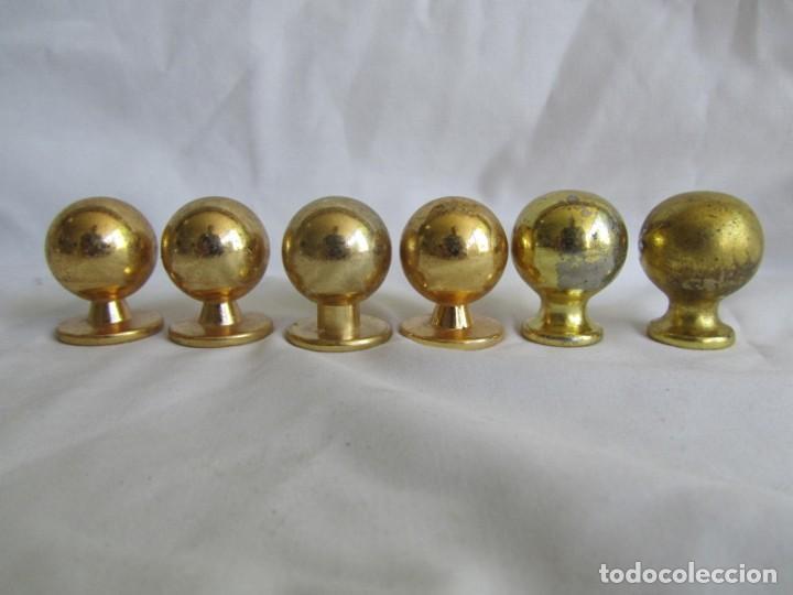 Antigüedades: 21 pomos tiradores de bronce macizo - Foto 9 - 208062566