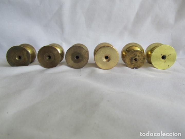 Antigüedades: 21 pomos tiradores de bronce macizo - Foto 12 - 208062566
