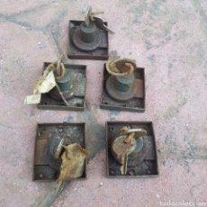 Antigüedades: LOTE DE 5 CERRADURA. Lote 208122855