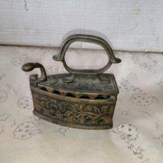 Antigüedades: ANTIGUA PLANCHA DE BRONCE. Lote 208144263