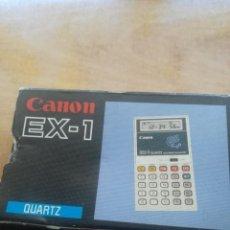 Antigüedades: CALCULADORA CANON EX-1. Lote 208305251