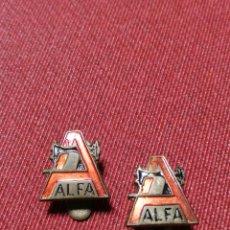 Antigüedades: 2 PIN MAQUINA COSER ALFA. Lote 208324258