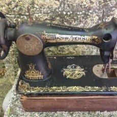 Antigüedades: ANTIGÜA MÁQUINA DE COSER. Lote 208400760