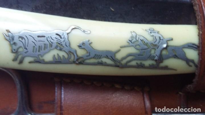 Antigüedades: estuche de afeitar con navaja - Foto 3 - 208419200