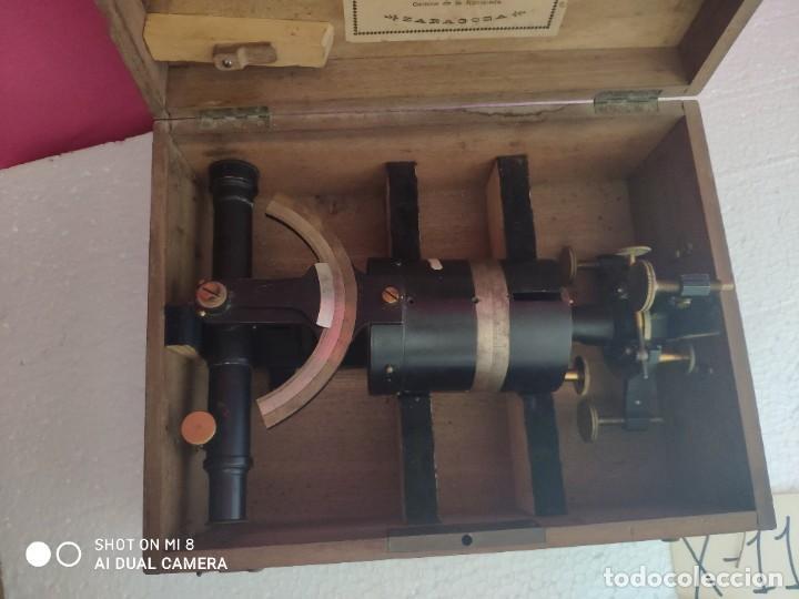 Antigüedades: TEODOLITO FABRICADO EN LA EMPRESA AMANDO LAGUNA - XXX 011 - Foto 11 - 42967062