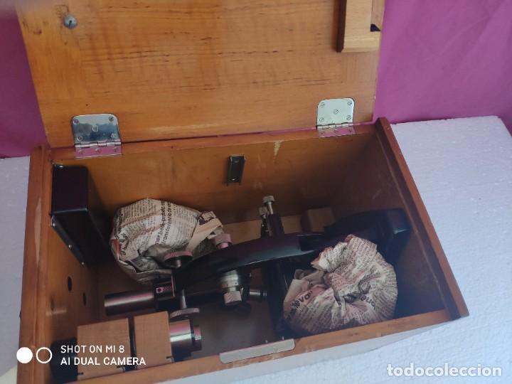 Antigüedades: MICROSCOPIO ALEMÁN CARL ZEISS - XXX 001 - Foto 15 - 42972307