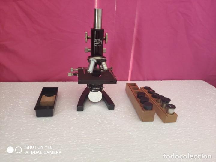 Antigüedades: MICROSCOPIO ALEMÁN CARL ZEISS - XXX 001 - Foto 18 - 42972307