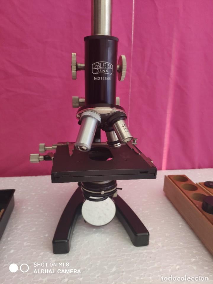 MICROSCOPIO ALEMÁN CARL ZEISS - XXX 001 (Antigüedades - Técnicas - Instrumentos Ópticos - Microscopios Antiguos)