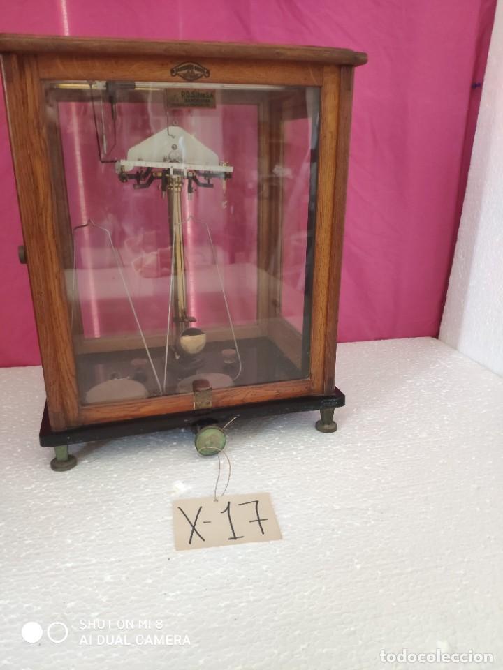 BALANZA DE PRECISIÓN SARTORIUS WERKE - XXX 017 (Antigüedades - Técnicas - Medidas de Peso - Balanzas Antiguas)
