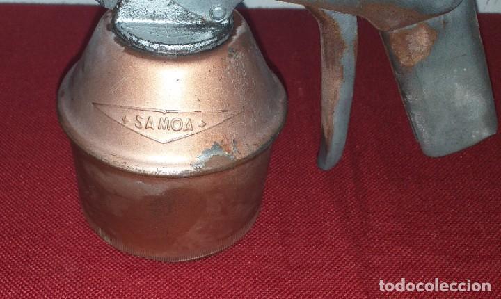 Antigüedades: ACEITERA MARCA SAMOA - Foto 3 - 208464162
