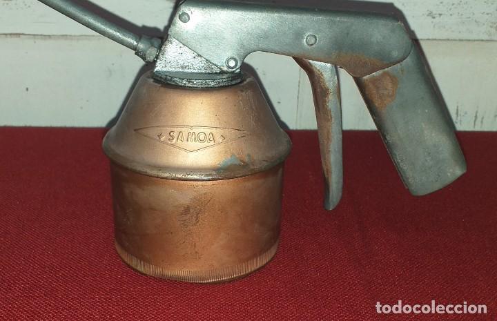 Antigüedades: ACEITERA MARCA SAMOA - Foto 4 - 208464162