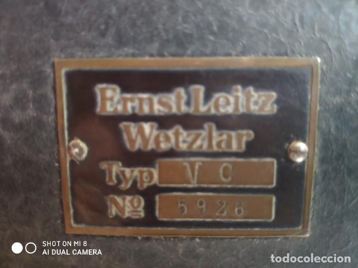 Antigüedades: VISOR ERNST LEITZ WETZLART - XXX 050 - Foto 3 - 42974316