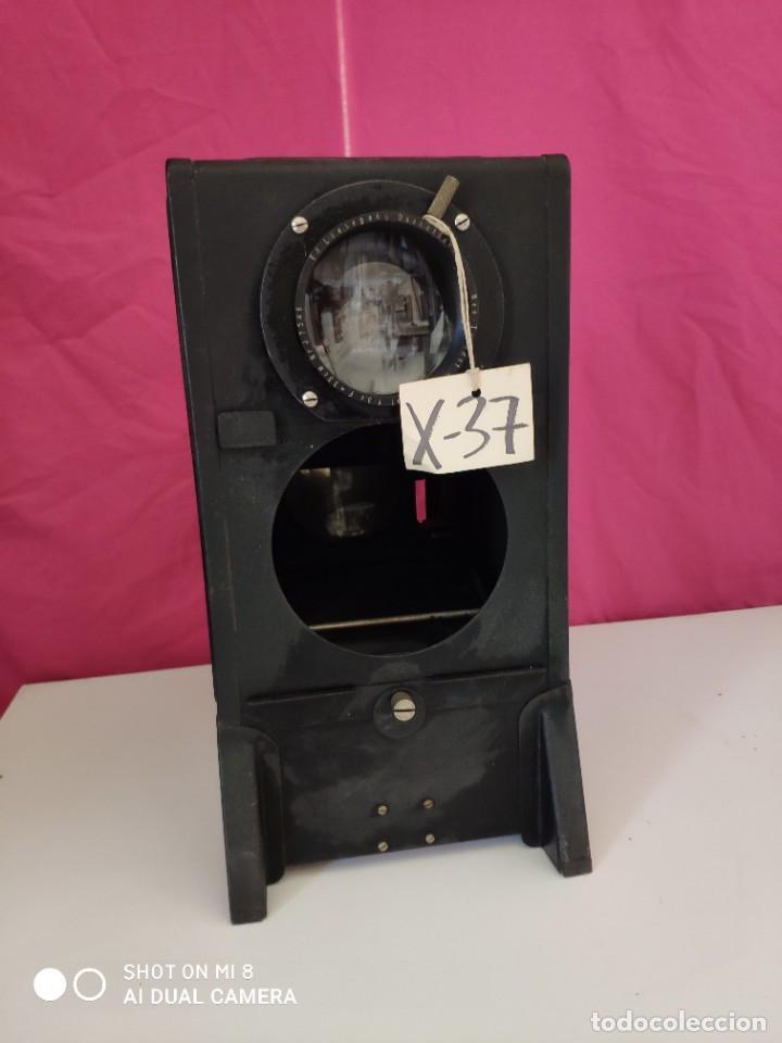 VISOR EDLISEGAN DUSSELDORL - XXX 037 (Antigüedades - Técnicas - Aparatos de Cine Antiguo - Visores Estereoscópicos Antiguos)