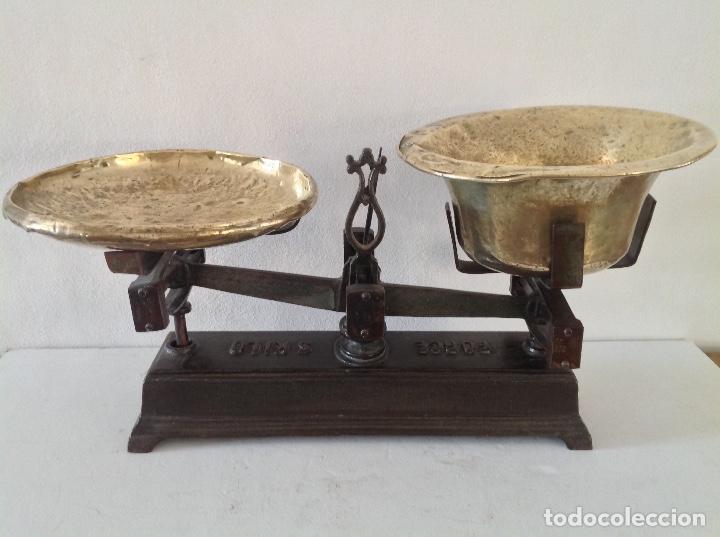 Antigüedades: Balanza grande muy bonito. - Foto 2 - 208481160