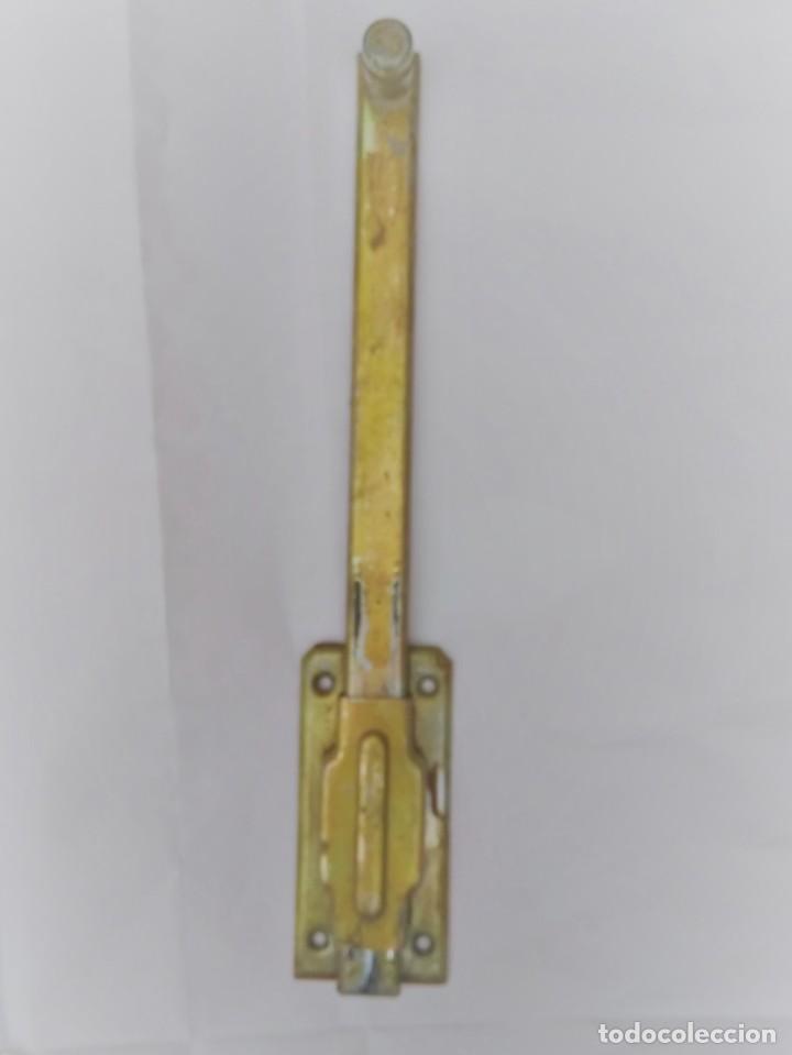FALLEBA DE 30 CMS (Antigüedades - Técnicas - Cerrajería y Forja - Pestillos Antiguos)