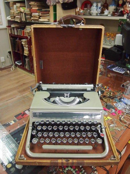 Antigüedades: Maquina de escribir Olivetti Studio 46 - Foto 2 - 208865230
