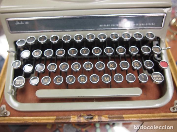 Antigüedades: Maquina de escribir Olivetti Studio 46 - Foto 4 - 208865230