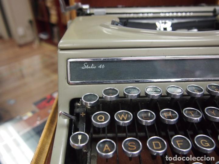 Antigüedades: Maquina de escribir Olivetti Studio 46 - Foto 5 - 208865230