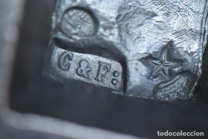 Antigüedades: TRES PESAS DE CON MARCAJES - Foto 8 - 208931458