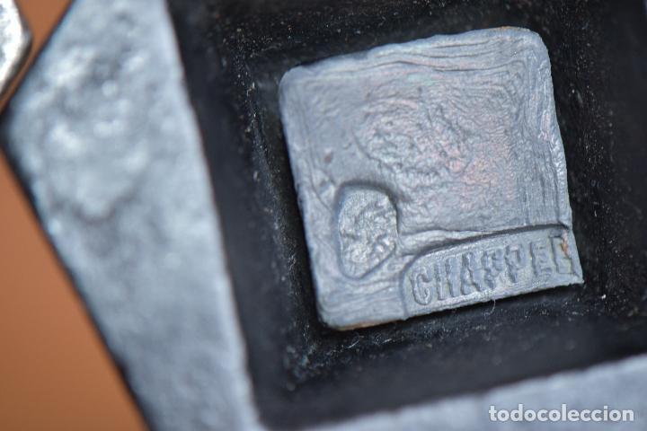Antigüedades: TRES PESAS DE CON MARCAJES - Foto 9 - 208931458