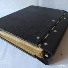 Antigüedades: LIBRO MAYOR, SIC LIBRO RAYADO, DE HOJAS CAMBIABLES, SISTEMA AUTOMÁTICO- S/F.- AÑO 1962. Lote 208975212