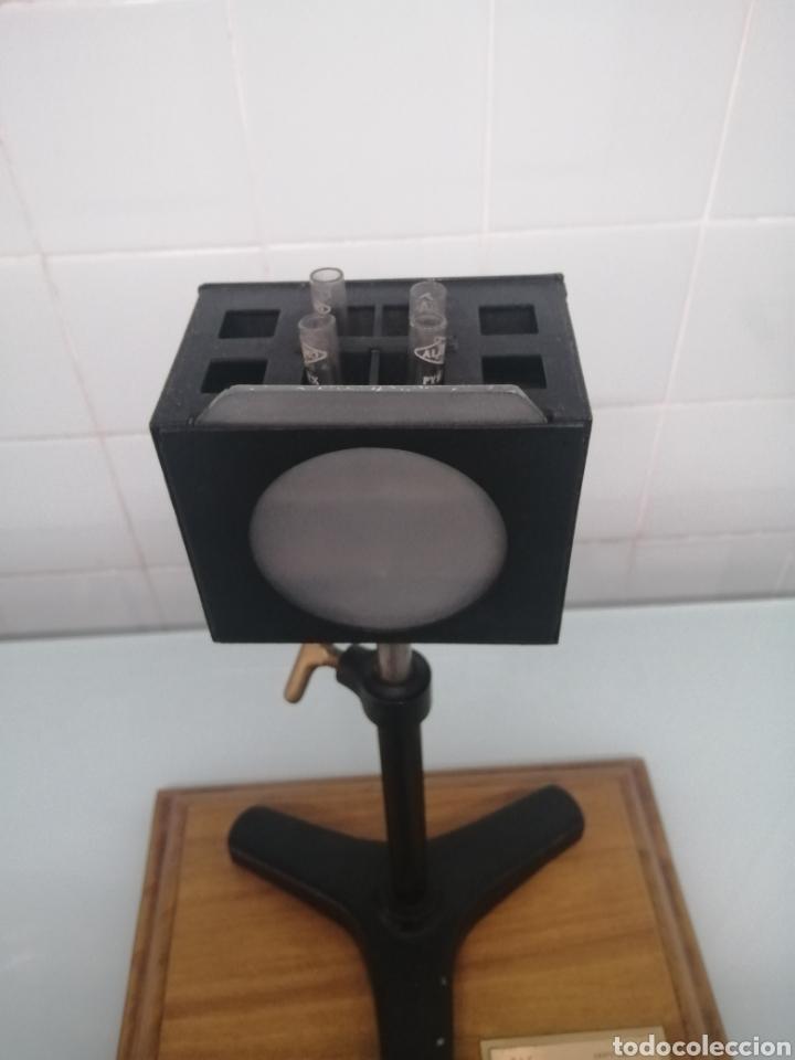 Antigüedades: COMPARADOR HELLIGER. 1912. AZUCARERA SANTA VICTORIA. VALLADOLID. 47X35X29 CM. VINTAGE INDUSTRIAL. - Foto 7 - 209000140