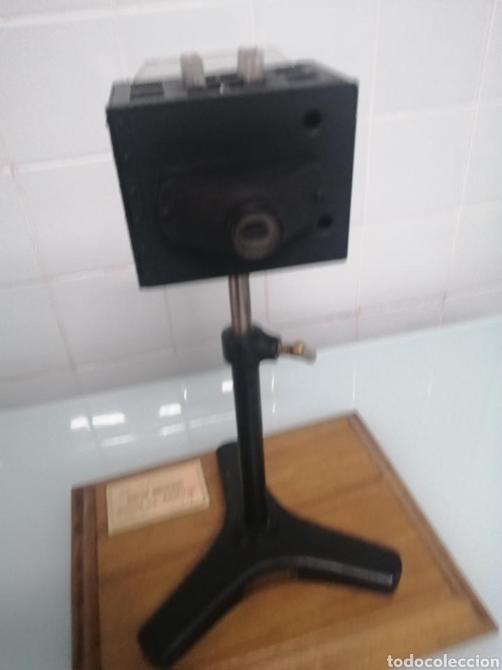 Antigüedades: COMPARADOR HELLIGER. 1912. AZUCARERA SANTA VICTORIA. VALLADOLID. 47X35X29 CM. VINTAGE INDUSTRIAL. - Foto 10 - 209000140