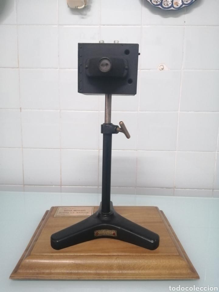 Antigüedades: COMPARADOR HELLIGER. 1912. AZUCARERA SANTA VICTORIA. VALLADOLID. 47X35X29 CM. VINTAGE INDUSTRIAL. - Foto 11 - 209000140