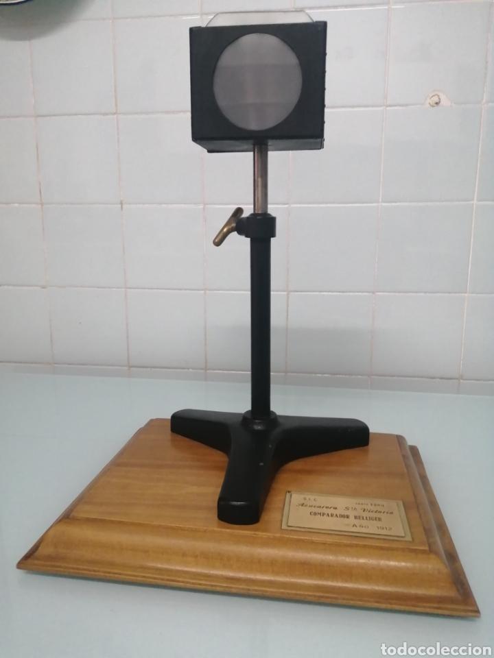 Antigüedades: COMPARADOR HELLIGER. 1912. AZUCARERA SANTA VICTORIA. VALLADOLID. 47X35X29 CM. VINTAGE INDUSTRIAL. - Foto 15 - 209000140