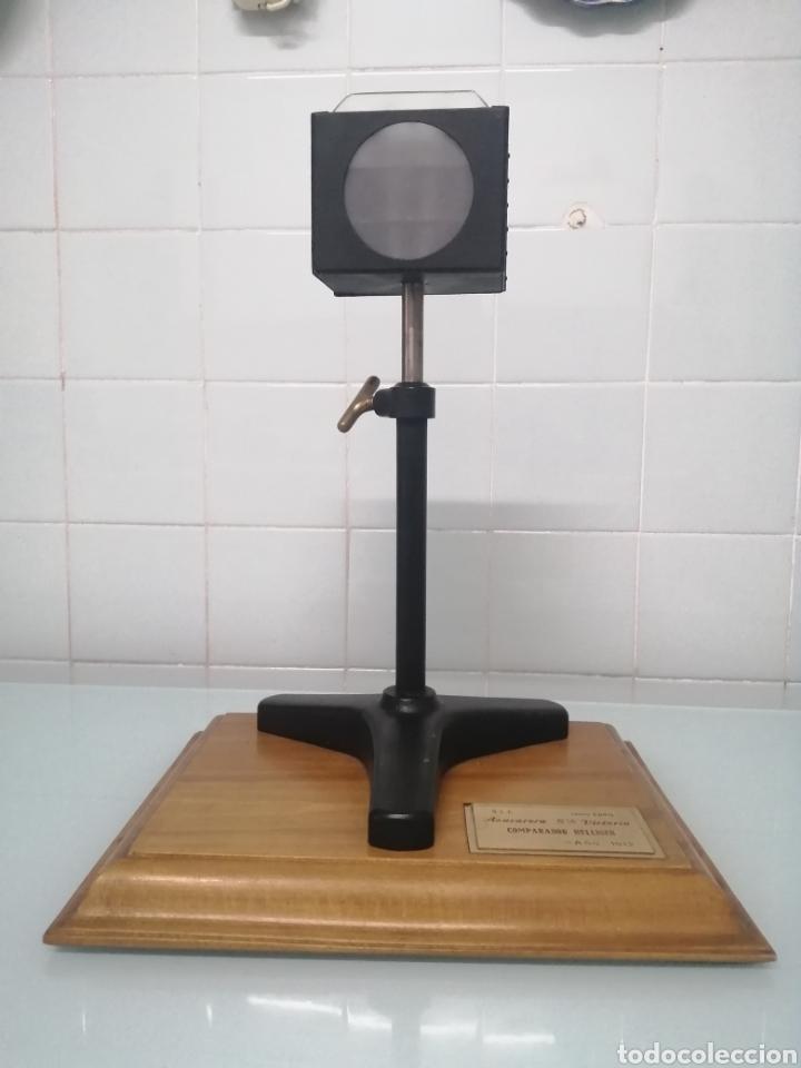 COMPARADOR HELLIGER. 1912. AZUCARERA SANTA VICTORIA. VALLADOLID. 47X35X29 CM. VINTAGE INDUSTRIAL. (Antigüedades - Técnicas - Otros Instrumentos Ópticos Antiguos)