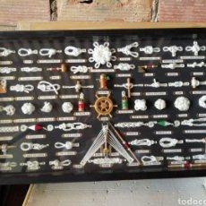 Antigüedades: CUADRO NUDOS MARINEROS. Lote 209037468