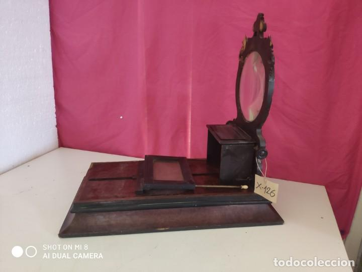 Antigüedades: VISOR ESTEREOSCÓPICO DE SOBREMESA EN MADERA - XXX 126 - Foto 3 - 43042110