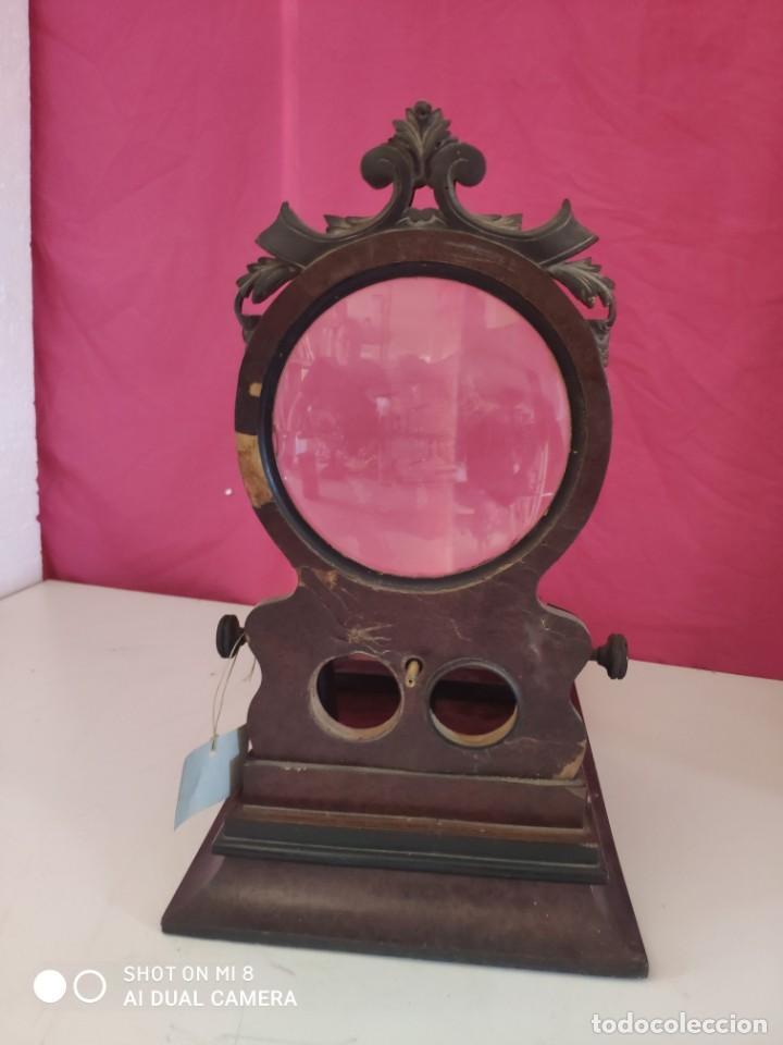 Antigüedades: VISOR ESTEREOSCÓPICO DE SOBREMESA EN MADERA - XXX 126 - Foto 4 - 43042110