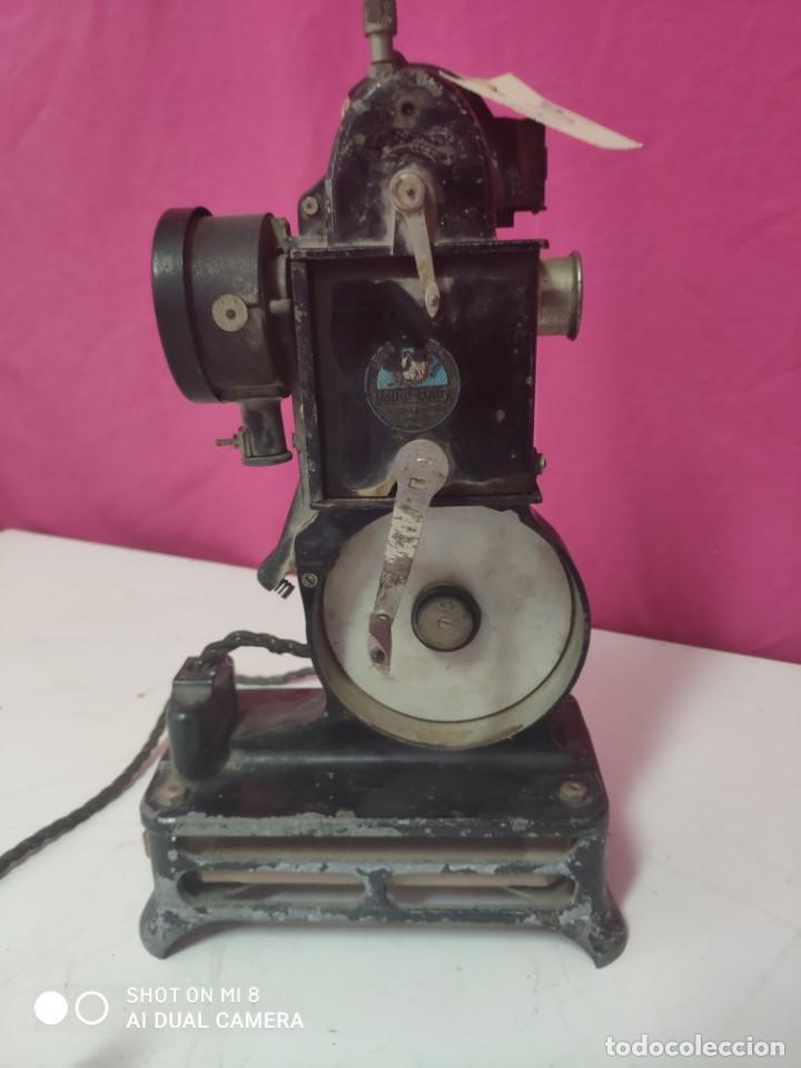 Antigüedades: PROYECTOR CINEMATOGRÁFICO PATHE-BABY - XXX 109 - Foto 5 - 43043213