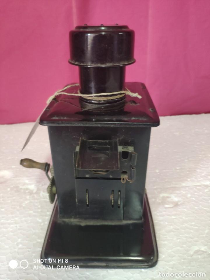 Antigüedades: Linterna mágica LAMPIERE- CINEMA, finales siglo XIX principios del siglo XX - XXX 349 - Foto 2 - 42965030