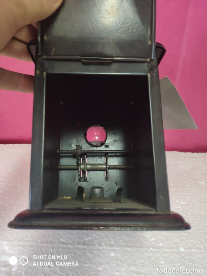 Antigüedades: Linterna mágica LAMPIERE- CINEMA, finales siglo XIX principios del siglo XX - XXX 349 - Foto 4 - 42965030
