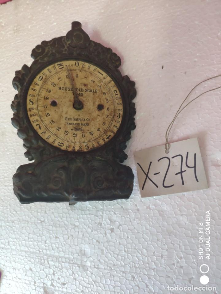 BALANZA CARTA POSTAL - XXX 274 (Antigüedades - Técnicas - Medidas de Peso - Balanzas Antiguas)