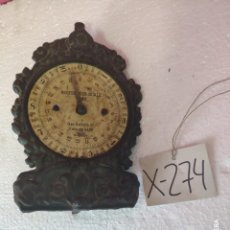 Antigüedades: BALANZA CARTA POSTAL - XXX 274. Lote 43017031