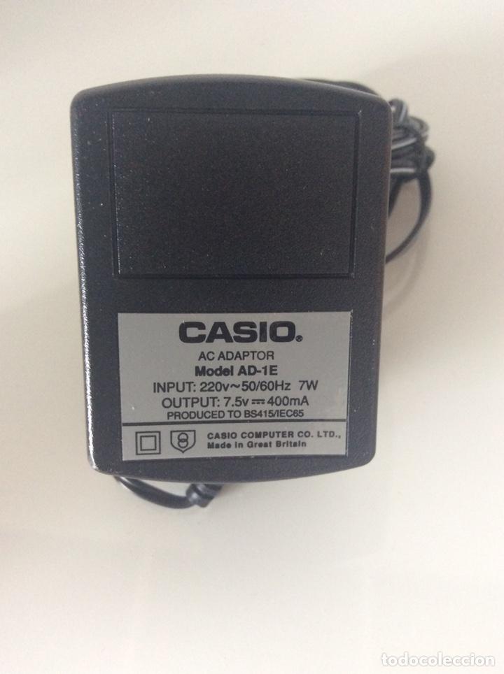Antigüedades: CASIO COMPUTER CO.LTD ADAPTADOR AC. MODELO AD-1E 220V SALIDA 7,5v 400mA TRANSFORMADOR NUEVO - Foto 3 - 223661497
