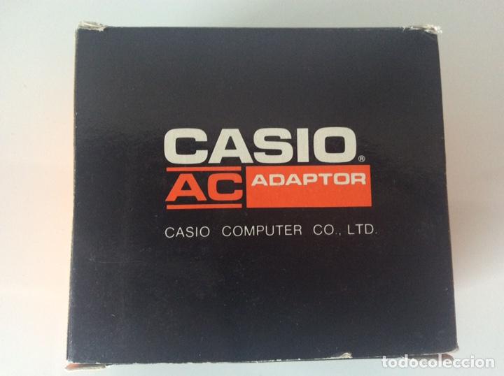 CASIO COMPUTER CO.LTD ADAPTADOR AC. MODELO AD-1E 220V SALIDA 7,5V 400MA TRANSFORMADOR NUEVO (Antigüedades - Técnicas - Aparatos de Cálculo - Calculadoras Antiguas)