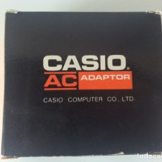 Antigüedades: CASIO COMPUTER CO.LTD ADAPTADOR AC. MODELO AD-1E 220V SALIDA 7,5V 400MA TRANSFORMADOR NUEVO. Lote 221697897