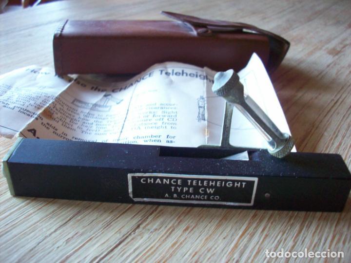 HERRAMIENTA PARA MEDICION DE ALTURAS . CHANCE TELEHEIGHT TYPE CW . A.B. CHANCE CO. (Antigüedades - Técnicas - Otros Instrumentos Ópticos Antiguos)