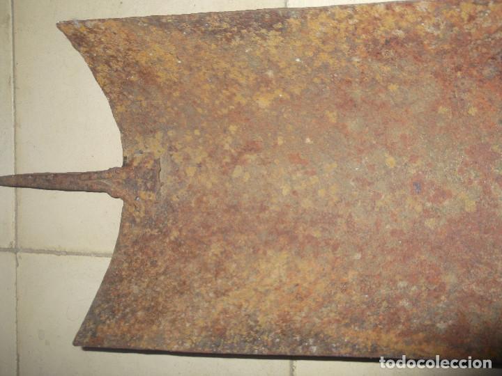 Antigüedades: Herramienta molde para tejas árabes. Extremadura. - Foto 12 - 209359396