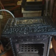 Antigüedades: ESTUFA, SALAMANDRA FRANCESA, CON COCINA Y HORNO.. Lote 209410352