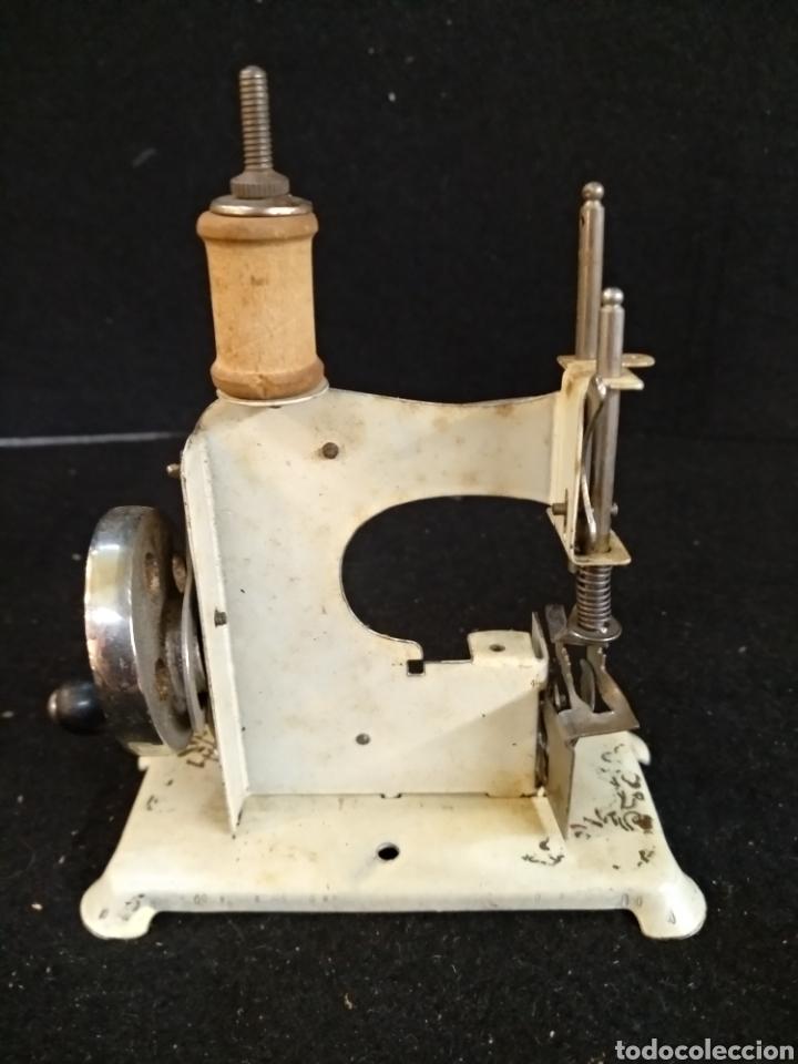 Antigüedades: Maquina de coser de viaje, Alfa - Foto 2 - 209414976