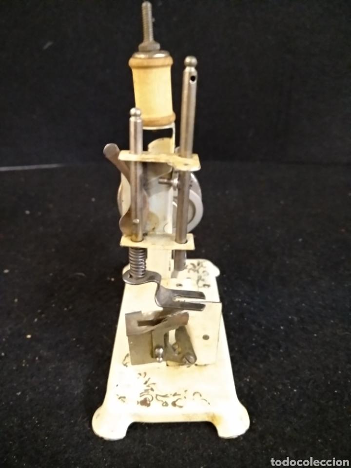 Antigüedades: Maquina de coser de viaje, Alfa - Foto 3 - 209414976