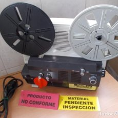 Antiguidades: PROYECTOR DE CINE + LOTAZO DE REGALOS.SUPER8 ARTIS 400 SONORO RETRO & VINTAGE. Lote 209561445